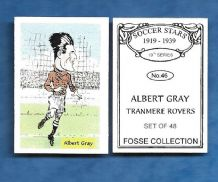 Tranmere Rovers Albert Gray 46 (FC)